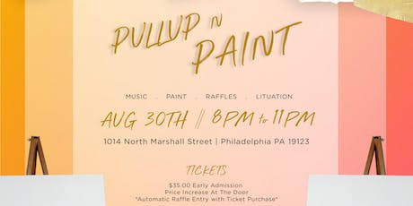 Pull-Up N Paint tickets
