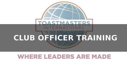 Toastmasters, District 11, Division A, Club Officer Training - Notre Dame