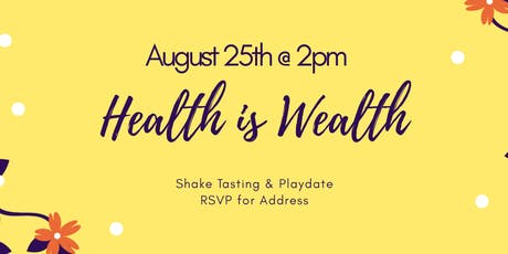Health is Wealth tickets