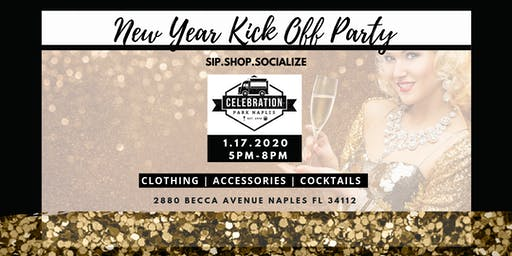 New Year Kick Off Party at Celebration Park (Sip.Shop.Socialize)