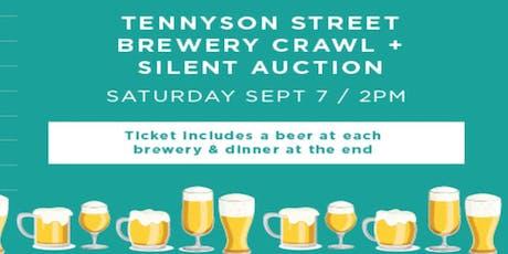Denver: Education First Tennyson Brewery Crawl tickets