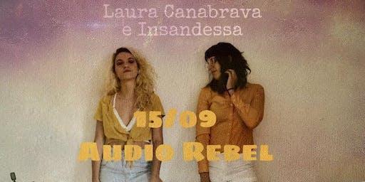 Show Laura Canabrava e Insandessa