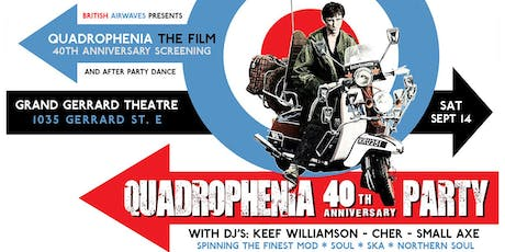 Quadrophenia - 40th Anniverary Party tickets
