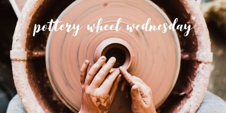 Pottery Wheel Wednesday! tickets
