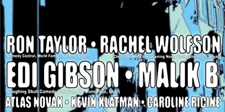 SILLIBUSTER COMEDY: Ron Taylor, Rachel Wolfson, Edi Gibson and more! tickets
