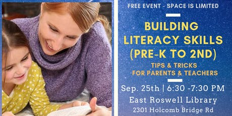 Building Literacy Skills: Tips and Tricks for Pre-K to 2nd Grade tickets