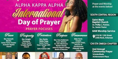 2nd Annual Community Prayer tickets