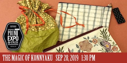 THE MAGIC OF KONNYAKU WORKSHOP