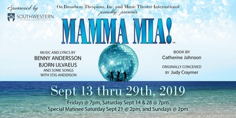 Copy of Mamma Mia! at the Hales Center tickets