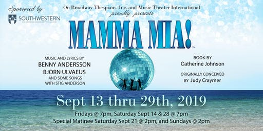 Mamma Mia! at the Hales Center