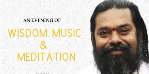 An evening of Wisdom, Music and Meditation (with Swami Sadyojathah)
