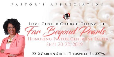 Appreciation Service for Pastor Genevieve Salter tickets