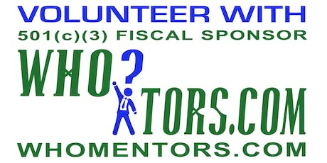 Volunteer With WHOmentors.com, Inc. tickets