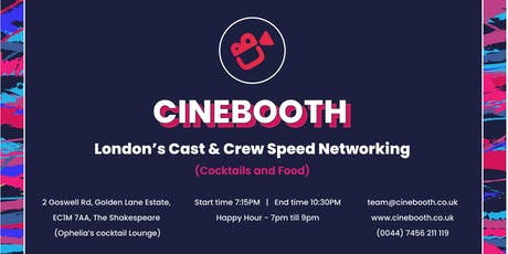 Speed Networking + Happy Hour Cocktails for Indie Cast & Crew tickets