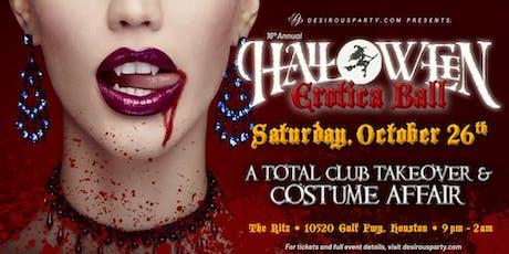 Halloween Erotica Ball-16th annual tickets