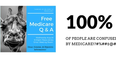 Free Educational Medicare Q&A tickets