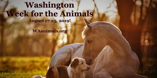Washington Week for the Animals August 17-25, 2019!