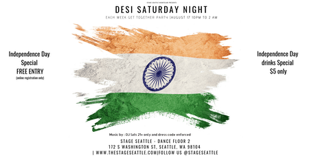 Bollywood Saturday night & Indian's get together p tickets
