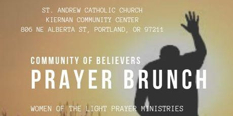 Community of Believers Prayer Brunch - Hosted By Evangelist Carla Howard & Women of the Light Prayer Ministries tickets