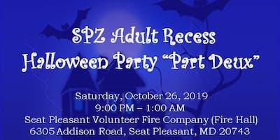 "Sigma Psi Zeta Chapter ***** Recess - Halloween Costume Party "" Part Deux"""