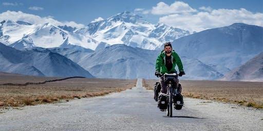 « Le monde à vélo » par Jonathan B. Roy.