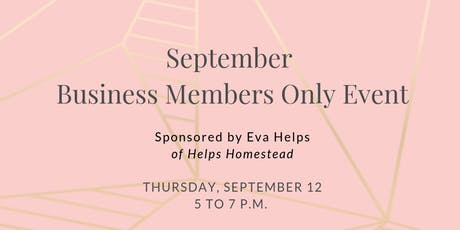 FemCity Des Moines September Business Member Only Event tickets