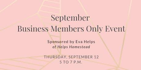 FemCity Des Moines September Business Member Only Event tickets