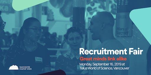 #VSW2019 Recruitment Fair
