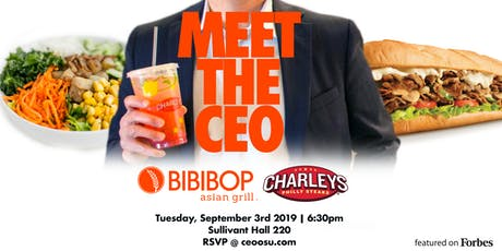 Meet the CEO of Bibibop & Charley's tickets