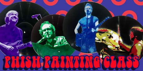 PHISH PHANS : Stencil Art Painting Class   On Records! tickets