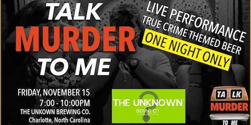 Talk Murder To Me Live: Charlotte