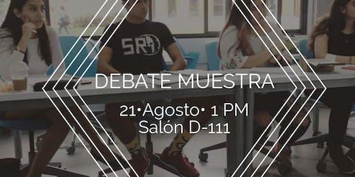 Debate Muestra