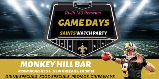 GAMEDAYS: SAINTS WATCH PARTY
