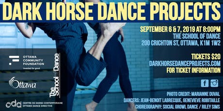 Dark Horse Dance Projects 2019 billets