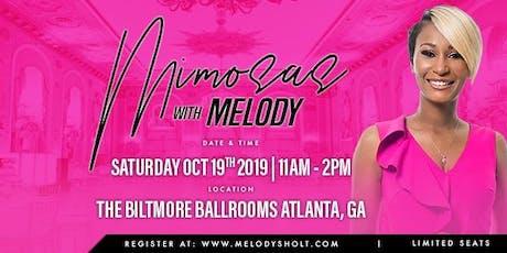 Mimosas with Melody: Atlanta tickets
