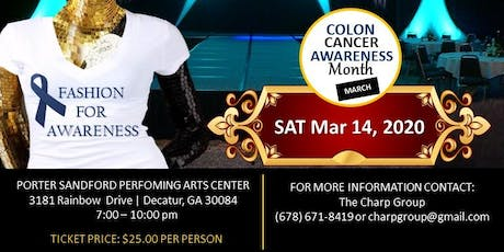 Fashion for Colon Cancer Awareness tickets