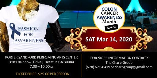 Fashion for Colon Cancer Awareness