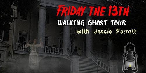 Queen City FRIDAY THE 13TH Walking Ghost Tour -- Friday, September 13th