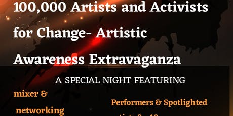 Laughz and Lyrics- 100,000 Artists and Activists for Change Extravaganza tickets