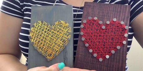 Cactus String Art Workshop tickets