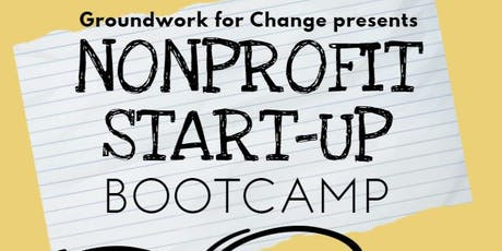 Nonprofit Start-Up Boot Camp! tickets