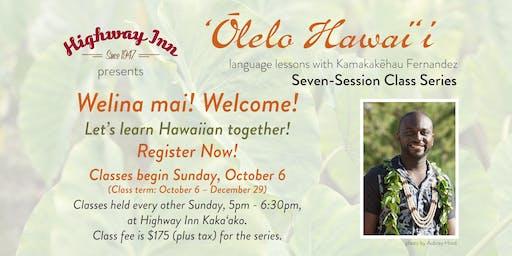 'Ōlelo Hawai'i with Kamakakēhau Fernandez