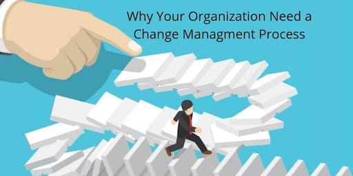 Change Management Classroom Training in Fresno, CA