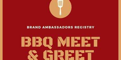 Brand Ambassador Registration tickets