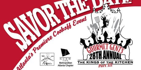 28th Annual Gourmet Gents The Kings of the Kitchen tickets
