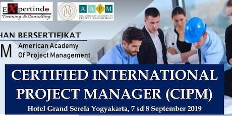 Pelatihan Certified International Project Manager (BERBAYAR) tickets