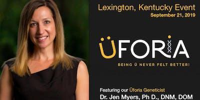 Meet Dr. Jen Myers: Lexington KY Üforia Event