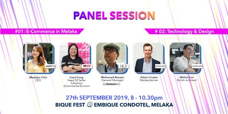 E-Commerce + Technology & Design in Melaka tickets