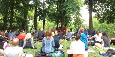 Meditation in High Park with Lama Samten & Tenzin Gawa billets