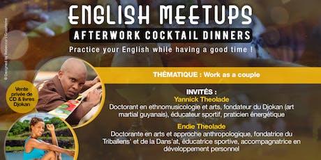 English Meetups Afterwork Cocktail Dinners billets